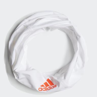 Fascia da collo HEAT.RDY Running Training Bianco Fitness & Training