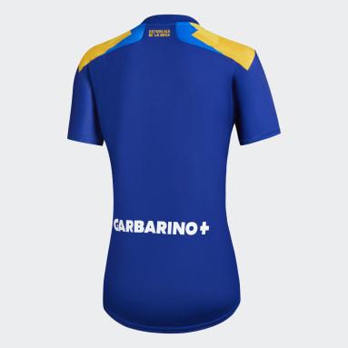 Tercera Camiseta Boca Juniors 20/21 Azul Mujer Fútbol