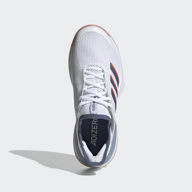Women Tennis White Adizero Ubersonic 3 Shoes