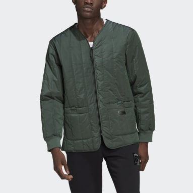 Heren Originals Groen R.Y.V. Light Padded Jack