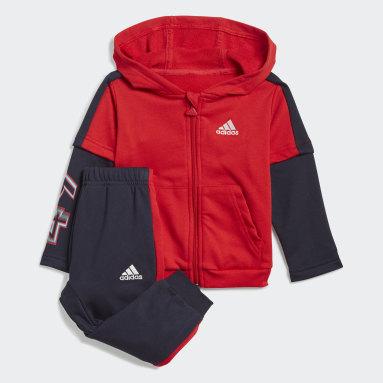 красный Комплект: толстовка и брюки Bold 49