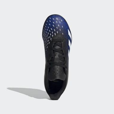 Chaussure Predator Freak.4 Terrain turf Bleu Enfants Soccer