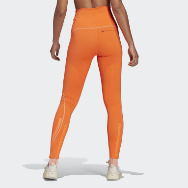 Tight TRUEPURPOSE Arancione Donna adidas by Stella McCartney