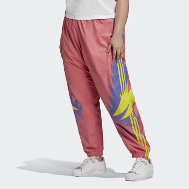 Women's Originals Pink Fakten Track Pants (Plus Size)
