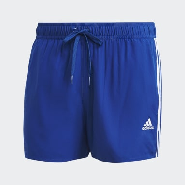 Short de bain Classic 3-Stripes Bleu Hommes Natation