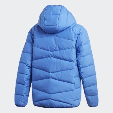 Chaqueta Frosty Azul Niño Gimnasio Y Entrenamiento