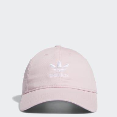 Children Originals Pink Washed Relaxed Strap-Back Hat