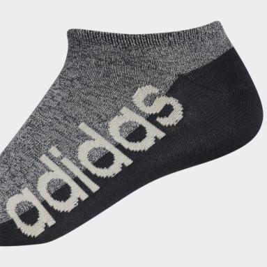 Men's Training Beige Linear Superlite No-Show Socks 6 Pairs