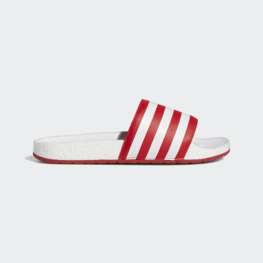 Men's Originals Red Adilette Boost Slides