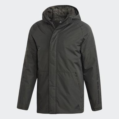 зеленый Куртка Xploric 3-Stripes