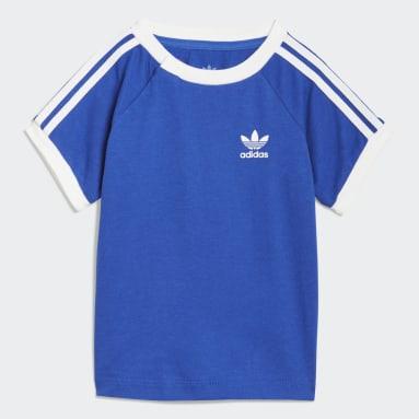 Bebek Originals Mavi 3 Bantlı Tişört