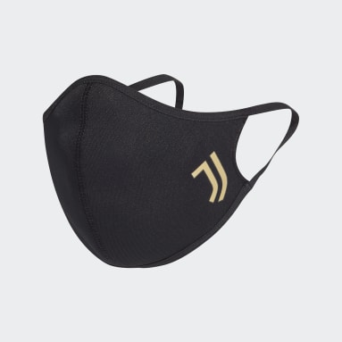 Sportswear Black Juventus Face Covers 3-Pack XS/S
