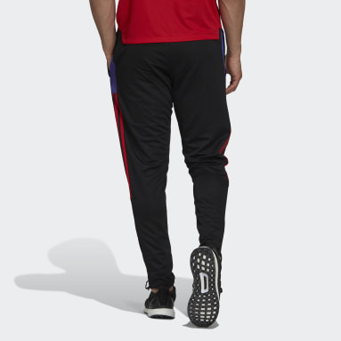 Men's Soccer Black Tiro Primeblue Track Pants