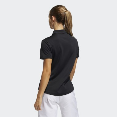 Women Golf Black Performance Primegreen Polo Shirt