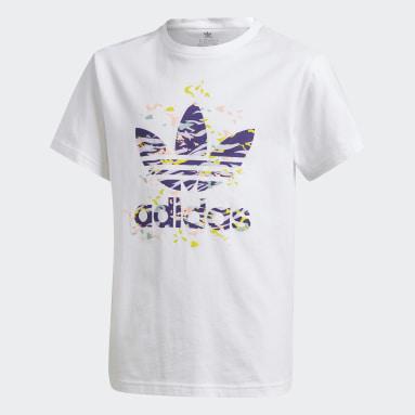 T-shirt blanc Adolescents Originals