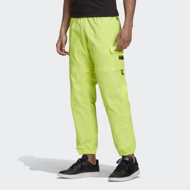 Men Originals Yellow R.Y.V. Utility 2-in-1 Pants