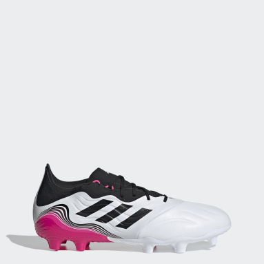 Soccer White Copa Sense.2 Firm Ground Cleats