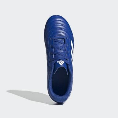 Chaussure Copa 20.4 Terrain souple Bleu Garçons Football