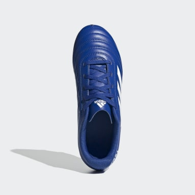 Boys Football Blue Copa 20.4 Firm Ground Boots