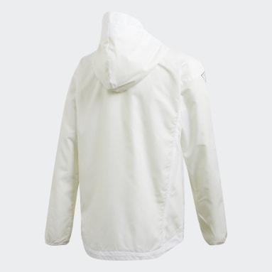 Girls Sportswear White XFG Must Haves Windbreaker