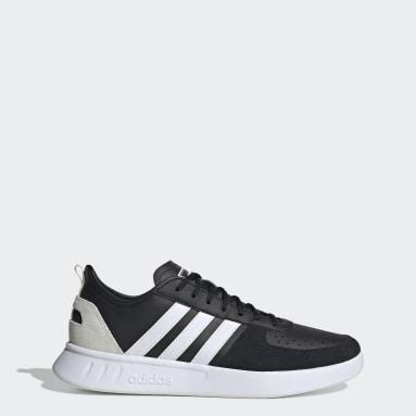 Men's Essentials Black Court 80s Shoes