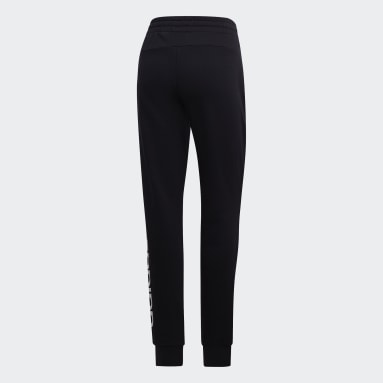 Pantaloni Essentials Linear Nero Donna Sportswear