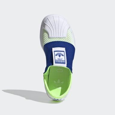 Zapatillas Superstar SMR 360 Verde Niño Originals