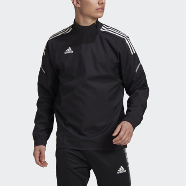 Men Football Black Condivo 21 Hybrid Top