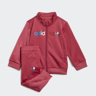 Kids Originals Pink Adicolor Primeblue Tracksuit