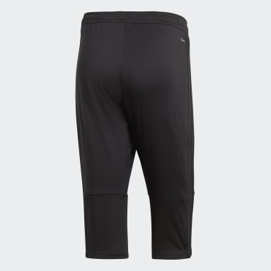 Men Football Black Condivo 18 3/4 Pants
