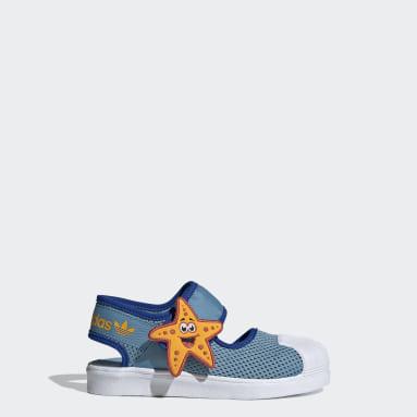 синий Сандалии Superstar 360 Primeblue
