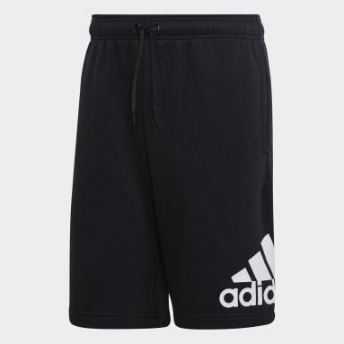 Heren Sportswear Zwart Must Haves Badge of Sport Short