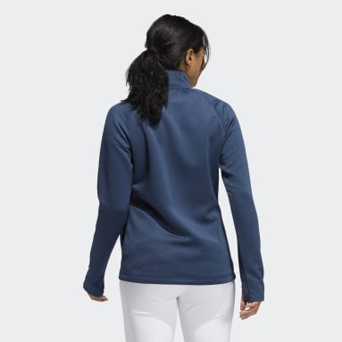 Dames Golf Blauw Textured Layer Jack