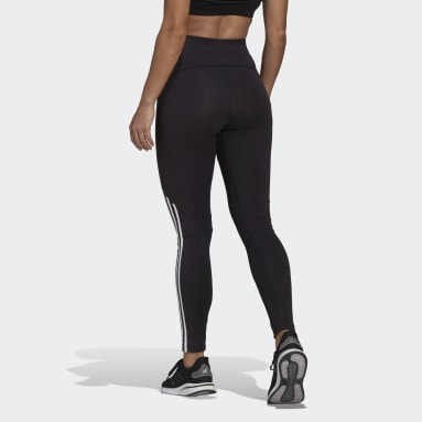 Frauen Sportswear adidas Sportswear Colorblock Tight Schwarz
