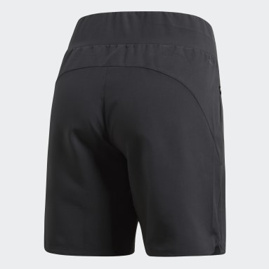 Women HIIT Black Knee-Length Shorts