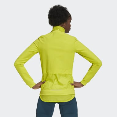 Women Cycling Yellow The Trackstand Cycling Track Top
