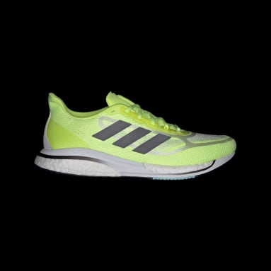 Men Running Yellow Supernova+ Shoes
