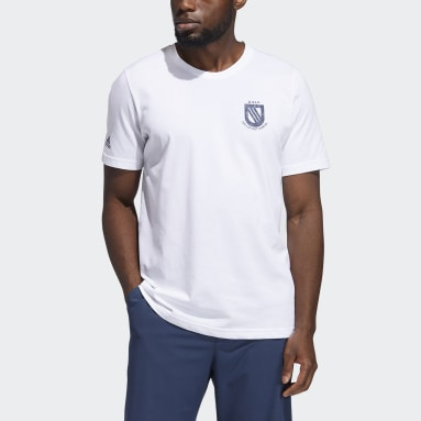 Men Golf White Championship Tee