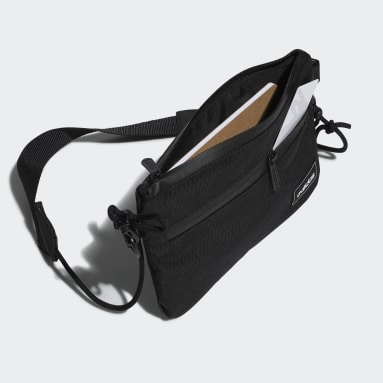 Sport Inspired Black Street Satchel