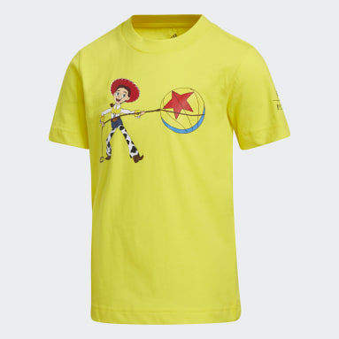 Children Basketball Yellow Jessie x Luxo Basketball Toy Story Tee