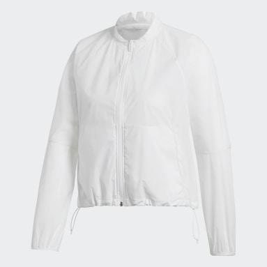 Women Sportswear White adidas Athletics Pack Blouson