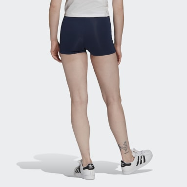 Women's Originals Blue Tennis Luxe Booty Shorts