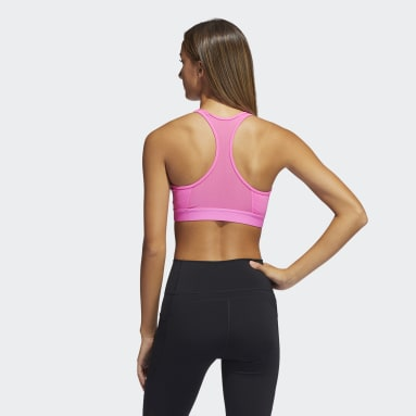 Women's Training Pink Don't Rest Alphaskin Bra