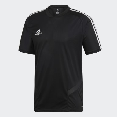 Men Soccer Black Tiro 19 Training Jersey