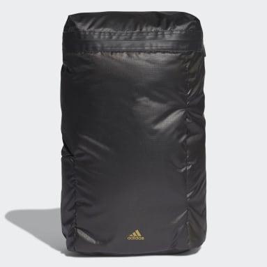 Women Training Black Sport Flap Ripstop Backpack