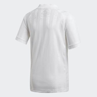 Boys Tennis White BOYS FREELIFT TENNIS T-SHIRT
