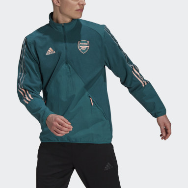 Haut Arsenal Travel Fleece Vert Hommes Football
