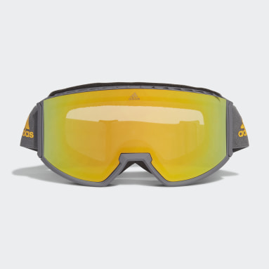 Skiing Grey Snow Goggles SP0040