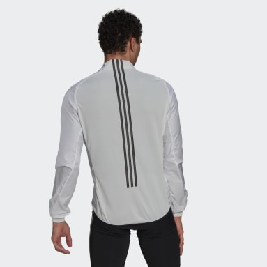 Men Cycling White The Cycling Windbreaker