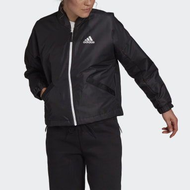 Women Outdoor Black Back to Sport Light Insulated Jacket